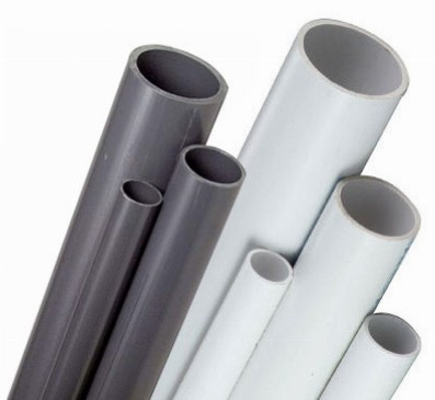 gray and white pvc pipe