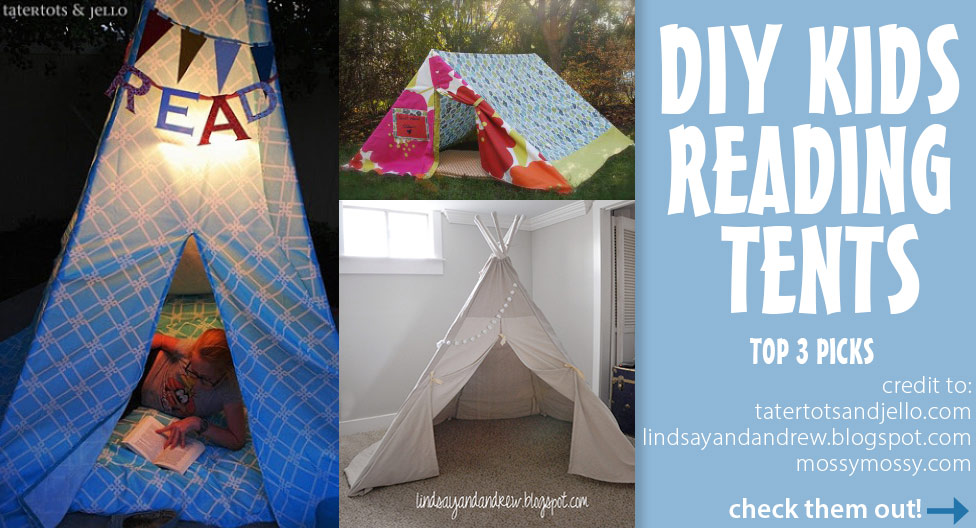 DIY Reading Tents - Top 3 Picks & DIY Kids Reading Tents - Top 3 Designs (with instructions!)