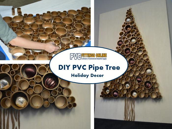 DIY PVC Christmas Tree - How to Make a PVC Christmas Tree