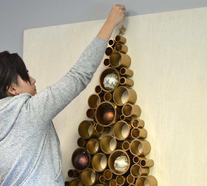 How To Make A PVC Christmas Tree
