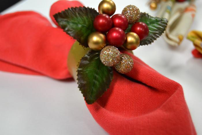 Diy christmas napkin rings holiday