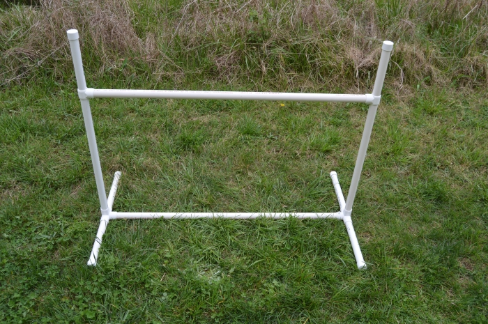 How to Make PVC Dog Agility Jumps - DIY Guide
