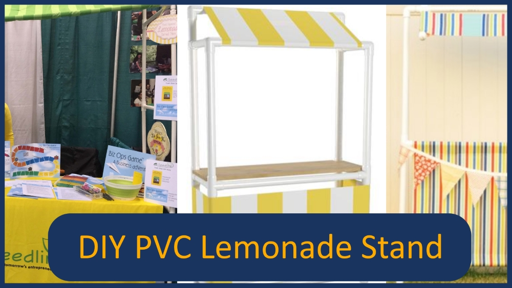 DIY PVC Lemonade Stand Main Image